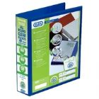 Elba Panorama Pres Binder A4 4D 50mm Bl (Pack of 4)
